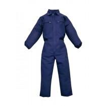 Combinezon de lucru din bumbac 100%, 240 gr/mp, culoare bleumarin