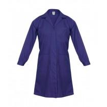 Halat de lucru pentru femei, din tercot 180 gr/mp, culoare bleumarin