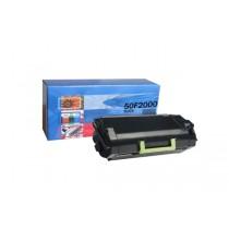 Cartus toner compatibil ManoArt, capacitate de printare 1500  pg, culoare: negru, compatibil cu Lexmark MS310d / MS310dn / MS410d / MS410dn / MS510dn / MS610de / MS610dn / MS610dte