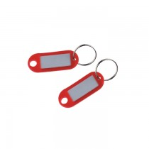 Suport eticheta pentru chei Flaro, diverse culori, 10 bucati/set