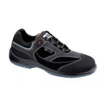 Alabama S3 SRC Pantofi de protectie- micronubuk hidrofobizat, microfibra rezistenta la abraziune, material textil si ornament reflectorizant; bombeu compozit; lamela nemetalica