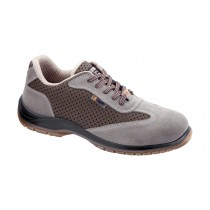Argo S1P SRC Pantofi de protectie- spalt de bovina si microfibra perforata; bombeu compozit; lamela nemetalica