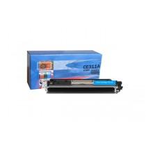 Cartus toner compatibil ManoArt, capacitate de printare 1000  pg, culoare: cyan, compatibil cu HP 126A CP1025/M175