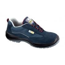 Cernei S1P SRC Pantofi de protectie- spalt de bovina, material textil apretat si ornament reflectorizant; bombeu compozit; lamela nemetalica