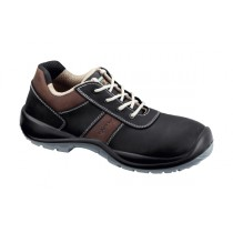 Cipro S3 SRC Pantofi de protectie- piele nubuk de bovina, hidrofobizata; bombeu compozit; lamela nemetalica