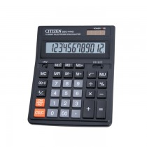 Calculator Citizen SDC-444S, 12 digiti, dual power, 199 x 153 x 30.5 mm