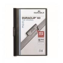 Dosar Durable Duraclip Original, 60 coli, negru