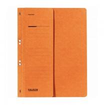 Dosar cu gauri 1/2 Falken Lux, carton, 250 g/mp, portocaliu