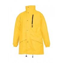 Jacheta impermeabila, material Aircoat-Flex. Culoare galben