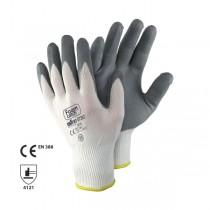Manusi din nailon, cu strat de spuma nitrilica in palma si pe degete