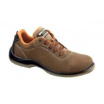 Gea S3 SRC Pantofi de protectie- piele nubuk de bovina, hidrofobizata; bombeu compozit; lamela nemetalica