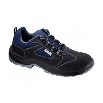 Iseo S1P SRC Pantofi de protectie- spalt de bovina si material textil; bombeu metalic; lamela metalica