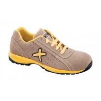 Misano S1P HRO SRC Pantofi de protectie- spalt de bovina, cu element ornamental din cauciuc; bombeu compozit; lamela nemetalica
