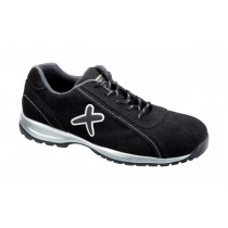 Montreal S1P HRO SRC Pantofi de protectie- spalt de bovina, cu element ornamental din cauciuc; bombeu compozit; lamela nemetalica