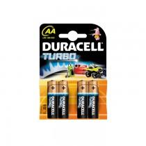 Baterii Duracell Turbo AA R6, 4 bucati/set