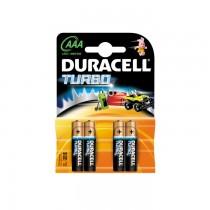 Baterii Duracell Turbo AAA R3, 4 bucati/set