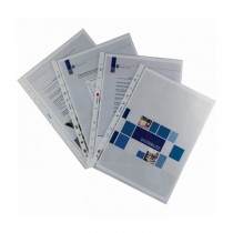 File din plastic Ecomax, A4, 100 bucati/set
