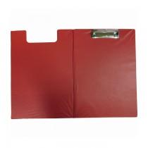 Clipboard dublu, rosu, A4, PVC