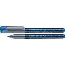 Universal permanent marker SCHNEIDER Maxx 224 M, varf 1mm - albastru