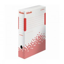 Cutie Esselte Speedbox pentru arhivarea documentelor, 80 mm, 25 buc/set