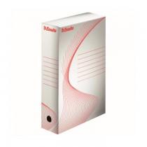 Cutie arhivare Esselte Boxy, 80 mm, alb, 10 bucati/set