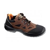 Sumatra S3 SRC Pantofi de protectie- piele nubuk de bovina, hidrofobizata, material rezistent laabraziune si ornament reflectorizant; bombeu compozit; lamela nemetalica