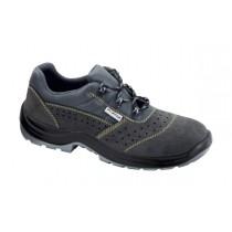 Trasimeno S1P SRC Pantofi de protectie- spalt de bovina; bombeu metalic; lamela metalica