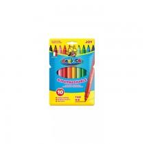 Markere Carioca Joy, varf 2 mm, 10 culori/cutie