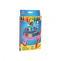 Markere Carioca Joy, varf 2 mm, 12 culori/set
