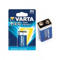 Baterii Varta High Energy 9 V, 1 bucata/blister
