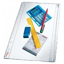 Folie protectie pentru documente A4, 200 microni, cu fermoar, 5folii/set, ESSELTE