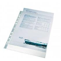 Folie protectie pentru documente, 105 microni, 100folii/set, ESSELTE - cristal